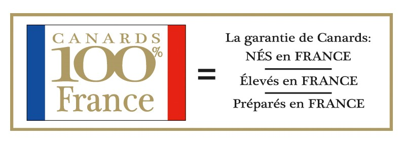 100% French logo certifying the origin of Sarrade products