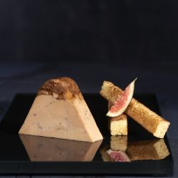 peciality Duck Foie Gras with a Fig, Sauternes and Hazelnut Jelly