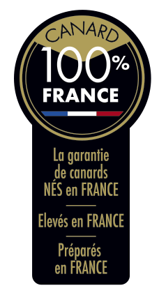 100% Made in France logo